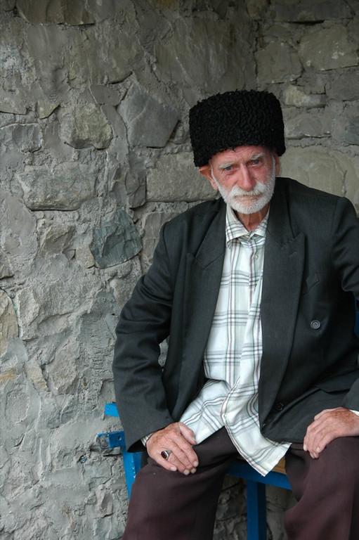 Lahic Elder - Lahic, Azerbaijan