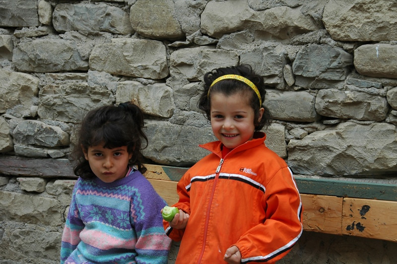 Little Girls of Lahic - Lahic, Azerbaijan