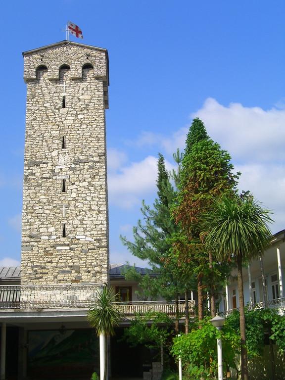 Zugdidi's Tower - Svaneti, Georgia