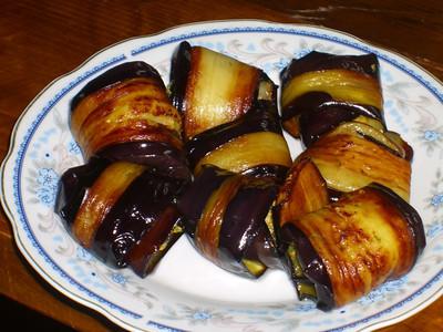 Badrijan Nigzit (Stuffed Eggplant) - Kisiskhevi, Georgia