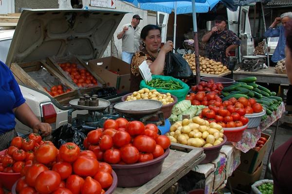Lada Full of Tomatoes - Kakheti, Georgia