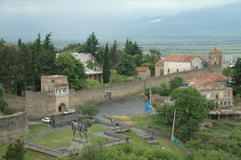 View of Telavi - Kakheti, Georgia