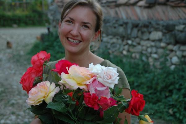 Bouquet of Roses - Kakheti, Georgia