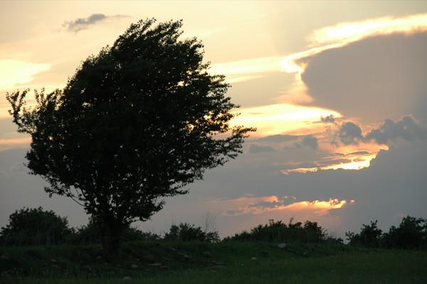 Dusk in Kakheti - Kisiskhevi, Georgia