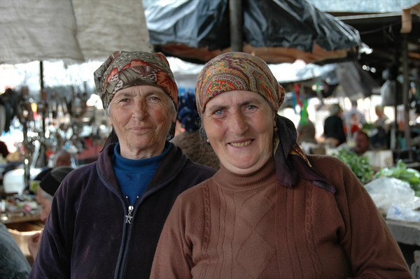 Azerbaijani Market Vendors - Kakheti, Georgia