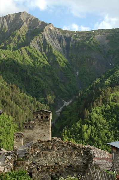 Svan Towers  - Svaneti, Georgia