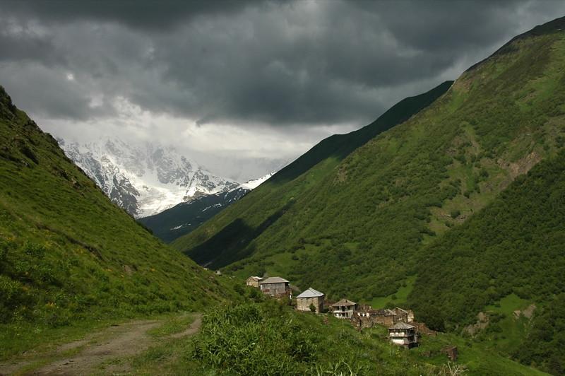 Abandoned Village - Svaneti, Georgia