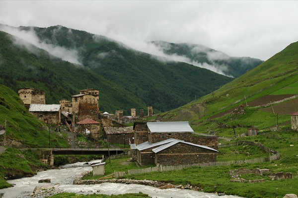 Mountain Village - Svaneti, Georgia