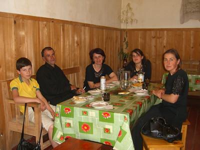 The Tourist with the other Tourists - Svaneti, Georgia