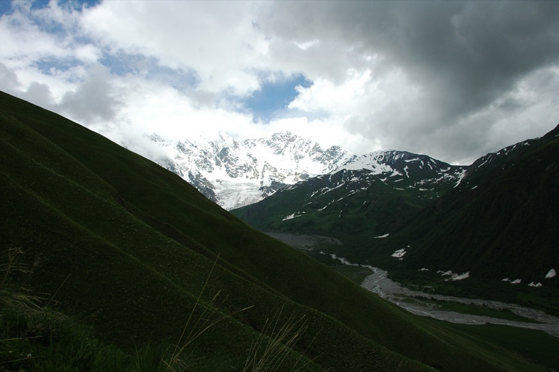 Mountain Scenic View - Svaneti, Georgia
