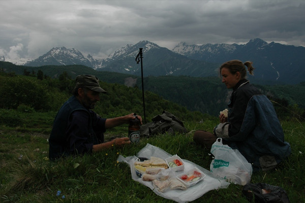 Picnic Lunch - Svaneti, Georgia