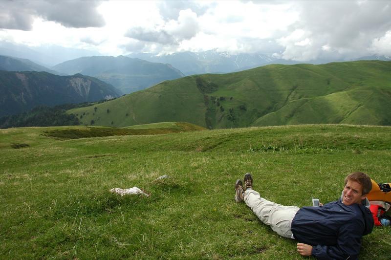 Trekking and Enjoying the View - Svaneti, Georgia