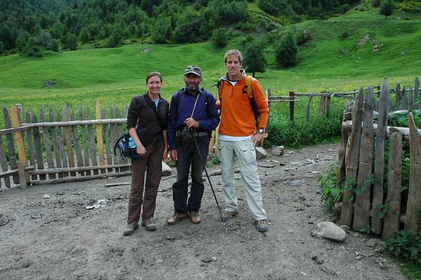 Starting Off on Trek - Svaneti, Georgia