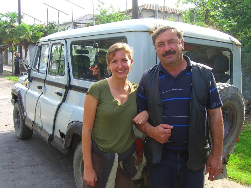 The Driver and the Tourist - Svaneti, Georgia