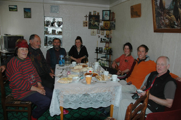 Homestay Family Lunch Feast - Svaneti, Georgia
