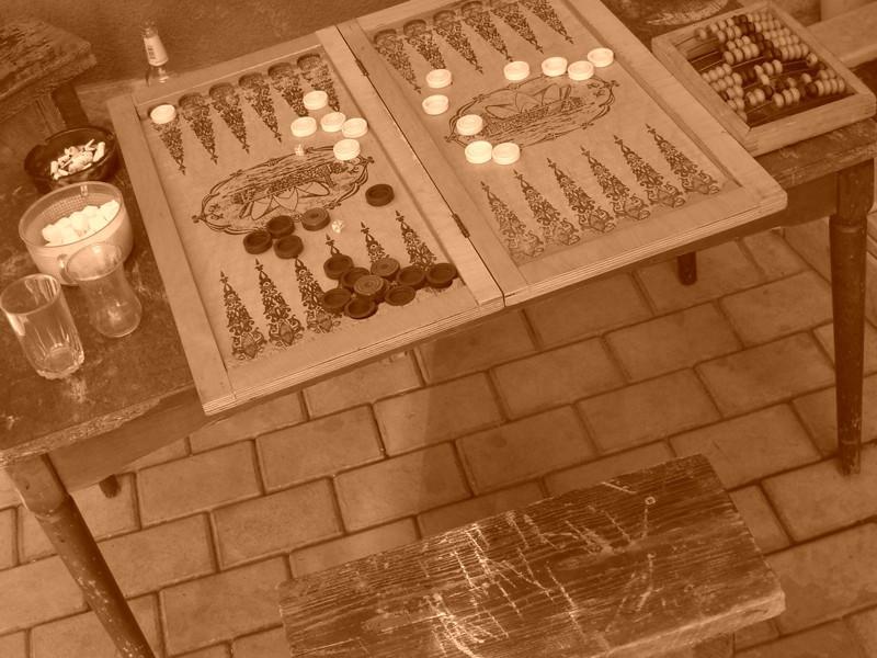 Backgammon Sets - Tbilisi, Georgia
