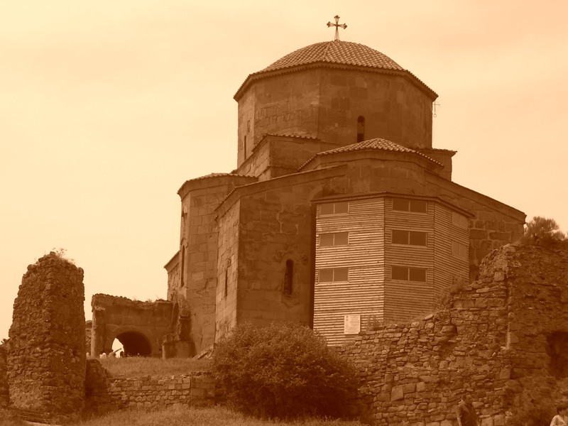 Jvari (Cross) Church - Mtskheta, Georgia