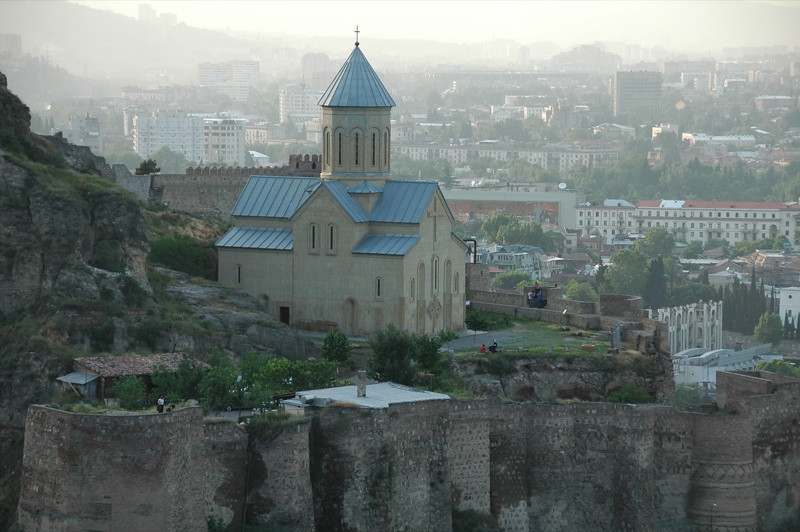 St. Nicholas Church, Narikala Fortress - Tbilisi, Georgia