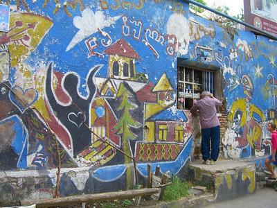 Colorful Street Graffiti - Tbilisi, Georgia