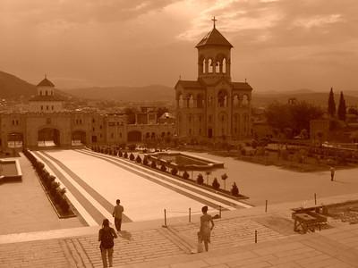 Sameba Cathedral - Tbilisi, Georgia
