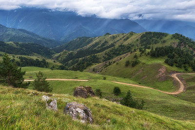 Green Valleys of Caucasus