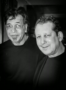 Jimmy Haslip (left) and Jeff Lorber