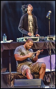 Black Violin's DJ TK (above) and Kev Marcus