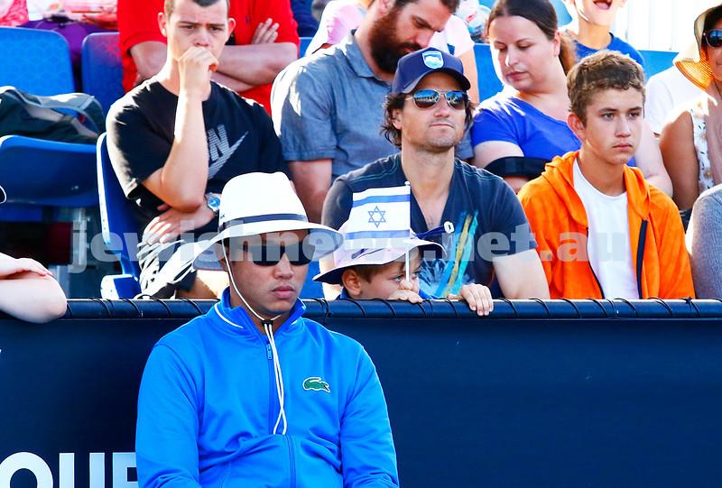 28-1-17. Australian Open 2017.  Junior Boys final.  Zsombor Piros (HUN) [15] defeats Yshai Oliel (ISR) [4]4-6 6-4 6-3. photo: peter haskin
