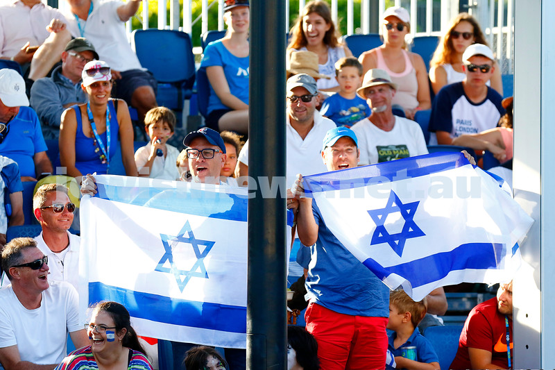 28-1-17. Australian Open 2017.  Junior Boys final.  Zsombor Piros (HUN) [15] defeats Yshai Oliel (ISR) [4]4-6 6-4 6-3. photo: peter haskin