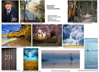 08 August -  Minimalism print