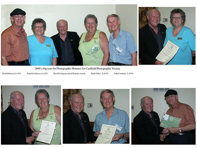 2005 honours