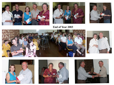 end of year 2003