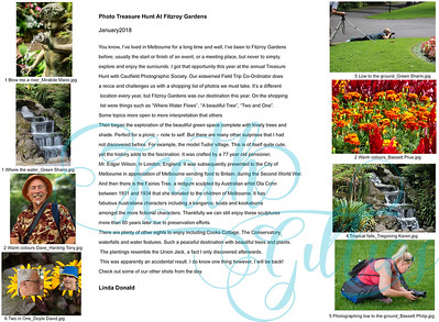 1 Treasure Hunt At Fitzroy Gardens