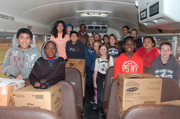 Howard - Cross Timbers Stuff the Bus Food Drive