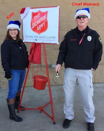 Salvation Army Red Kettle Campaign 2017