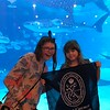 Georgia Aquarium. Ashley, Class of 2023 and Kylie, Class of 2027 (4th grade) Deliberto.