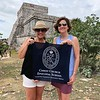 Faculty members Dottie Hollis and Bibby Sierra in Tulum, Mexico