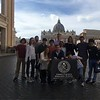 Upper School Latin students visit the Vatican.