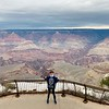 4th grader Holden Hughes at the Grand Canyon