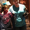 Teton Raptor Center visited Lively Block's Jackson Hole Four Seasons hotel. Lively had an up close leaning experience of the owls and a falcon.