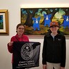 The Kuenns at the Rodrigue Gallery, New Orleans