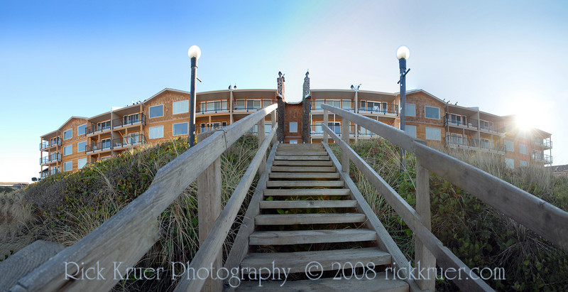 """Cavalier Condo Remodel from the Beach Stairs<br /> <a href=""""http://CavalierCondos.com"""">http://CavalierCondos.com</a><br /> November 2008<br /> <br /> Copyright © 2008 Rick Kruer<br /> rickkruer.com<br /> <br /> D200_20081123_1113_DSC_7697--7701-CavalierOutsideViewFromStairsPan-3.psd"""
