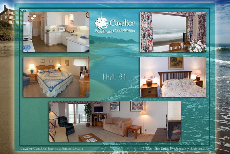 "Montage of ""Unit 31 - Cavalier Beachfront Condominiums, Gleneden Beach, Oregon"" photos: background is 8047-5227, from upper left to right: 0951, 0947, 0917--0921, 0933, 0906--0909.<br /> <br /> March, July 2009<br /> <br /> Copyright © 2009 Rick Kruer rickkruer.com (rick@kruer.name)<br />    <br /> MONTAGE-CavalierCondo-Unit31-D200_July2009-DSC_8047-5227_0951_0947_0917--0921_0933_0906--0909-4.psd"