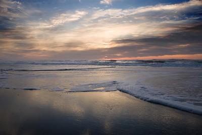 Winter Sunset on the Central Oregon Coast November 2008  Copyright © 2008 Rick Kruer rickkruer.com  D200_20081126_1722_DSC_8045-OceanSunset-2.psd