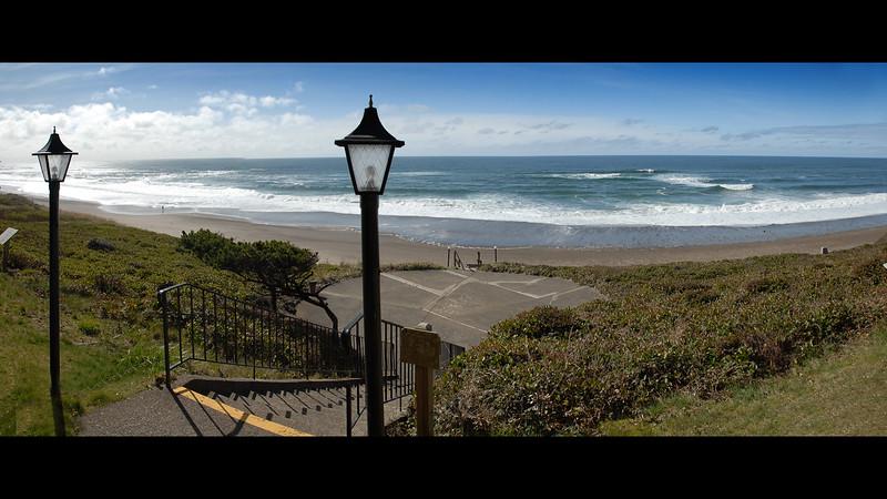 Cavalier Condo Ocean View<br /> March 2009<br /> <br /> Copyright © 2009 Rick Kruer<br /> rickkruer.com<br /> <br /> D200_20090321_1512_DSC_1586-CavalierOceanViewStairs-Pan-1586--1588-3.psd