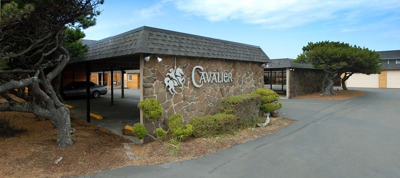 Cavalier Beachfront Condominiums<br /> Office Parking Area - Cavalier Sign<br /> March 2009<br /> <br /> Copyright © 2009 Rick Kruer<br /> rickkruer.com<br /> cavaliercondos.com<br /> <br /> D200_20090318_1312_DSC_0325--0326-Pan-CavalierSignParking-2.psd