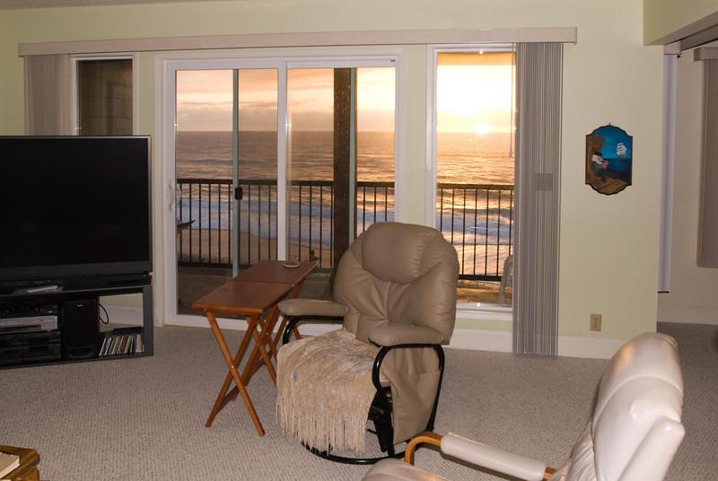 Cavalier Beachfront Condominiums<br /> Unit 36<br /> March 2009<br /> <br /> Copyright © 2009 Rick Kruer<br /> rickkruer.com<br /> cavaliercondos.com<br /> <br /> D200_20090320_1918_DSC_1323-Unit36-SunsetBalconyWindow-nice-2.psd