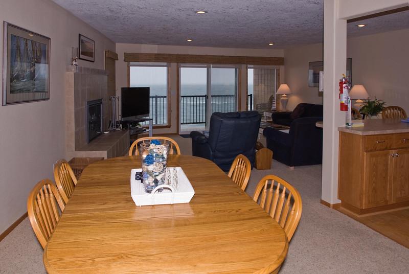 Cavalier Beachfront Condominiums<br /> Unit 45<br /> March 2009<br /> <br /> Copyright © 2009 Rick Kruer<br /> rickkruer.com<br /> cavaliercondos.com<br /> <br /> D200_20090320_1531_DSC_1187-Unit45-DiningRoomView-2.psd