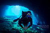 FFM Diver in Blue Grotto Cavern