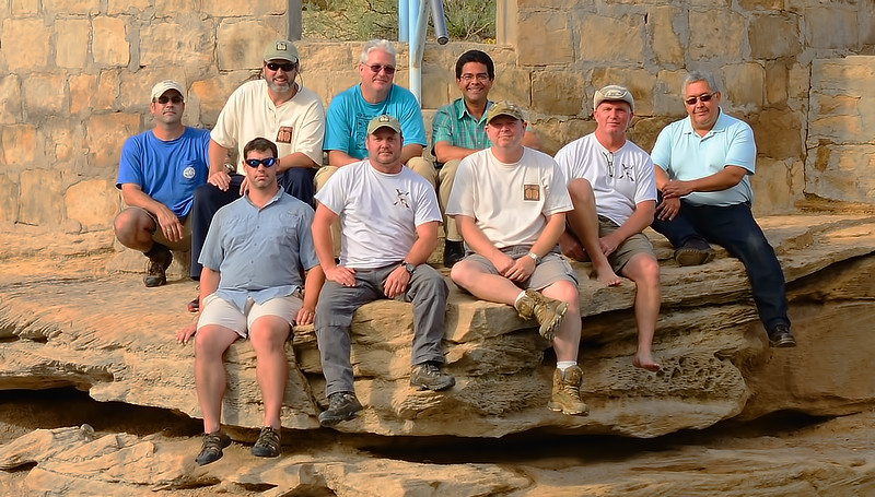 Team Photo:  Back 4 (left to right) - Jim Killion, Brett Hemphill, Michael Poucher, and City of Santa Rosa Mayor - Albert E. Campos Jr. Front Five (left to right) - Marc Hoppe, Walter Pickel, Joel Clark, Curt Bowen, and Richard R. Delgado